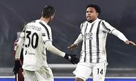 Clip trận Juventus thắng ngược ở derby Serie A