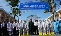 Bệnh viện dã chiến 300 giường tại TPHCM đi vào hoạt động