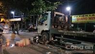 Xe máy tông trực diện xe tải ở Sài Gòn, 2 người chết tại chỗ