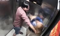 Cô gái bị đánh trong thang máy sống với người đàn ông đánh mình