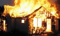 Cháy nhà, 3 cha con tử vong thương tâm
