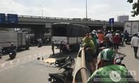 Đi khám bệnh, người phụ nữ bị xe tải cán chết thương tâm ở Sài Gòn