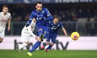 Juventus thua ngược dù Ronaldo ghi bàn