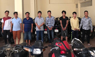 Nhiều tên trộm cướp sa lưới ở quận trung tâm Sài Gòn