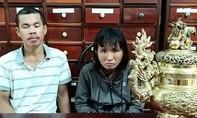 Cặp vợ chồng trộm lư đồng tại đền thờ nữ Anh hùng Võ Thị Sáu