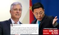 Quan chức Trung – Mỹ chì chiết nhau vì dịch Covid-19