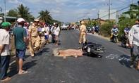 Sau tai nạn chết người, xe 7 chỗ liên quan chạy khỏi hiện trường