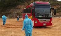 Cách ly 45 người trên xe khách từ Thái Lan về qua cửa khẩu