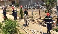 Đà Lạt:  Điều tra vụ cháy lớn tại nhà xưởng ươm cây giống