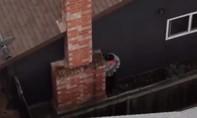 Clip tên trộm bị cảnh sát phát hiện nhờ flycam