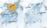 Ảnh vệ tinh: Dịch nCoV khiến Trung Quốc giảm hẳn ô nhiễm