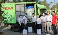 Công ty Vedan Việt Nam tài trợ 3.200 lít Javen khử trùng