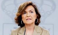 Phó thủ tướng Tây Ban Nha nhiễm nCoV