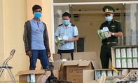 Bắt vụ vận chuyển 20.000 khẩu trang y tế qua cửa khẩu