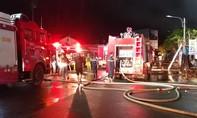 Cháy chợ, gần 100 ki-ốt thiệt hại, tiểu thương lao đao