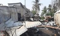 Cháy 7 căn nhà ở An Giang