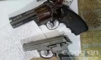 Phá sòng bạc ở Phú Quốc, thu giữ 3 khẩu súng