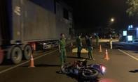 Liên quan tai nạn 2 thanh niên tử vong, ô tô rời khỏi hiện trường