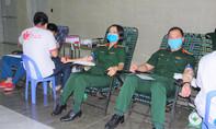 Bệnh viện dã chiến hiến máu phòng chống dịch Covid-19