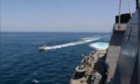 11 xuồng máy của Iran áp sát tàu hải quân Mỹ