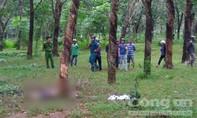 Người đàn ông chết cháy ở tư thế quỳ gối trong rừng cao su
