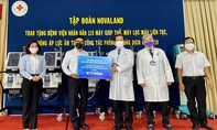 Novaland tặng trang thiết bị Y tế cho Bệnh viện nhân dân 115