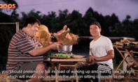Trường Giang hài hước với show ẩm thực