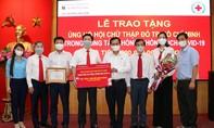 Agribank chi nhánh Sài Gòn ủng hộ 200 triệu đồng chống dịch