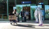 Cần Thơ đón 215 công dân từ Singapore về nước
