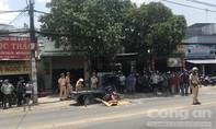 TPHCM: Tránh xe ba gác đậu ngược chiều, thanh niên bị xe tải cán chết