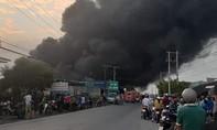 Cháy lớn công ty chuyên sản xuất bao bì, thiệt hại hàng tỷ đồng