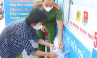 """Công an tỉnh Vĩnh Long tổ chức """"ATM gạo"""" lưu động"""