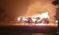Sét đánh cháy nhà rông là điểm sinh hoạt văn hóa, tham quan