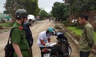 Huyện Bình Xuyên: Phạt 73 người không đeo khẩu trang
