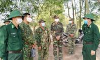 Ấm tình quân dân trên tuyến biên giới chống dịch