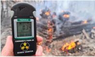 Nồng độ phóng xạ gần Chernobyl tăng vọt do cháy rừng