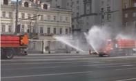 Clip Nga điều xe chuyên dụng khử nhiễm đường phố