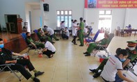 Công an tỉnh Đắk Lắk hiến máu tình nguyện