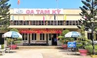 Tạm dừng vận chuyển khách bằng đường sắt về Quảng Nam