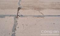 An Giang: Vì sao đường tỉnh 943 mới làm xong đã đầy vết nứt?