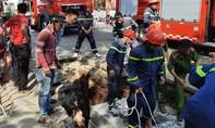 Thi công đường ống thoát nước, 1 công nhân tử vong