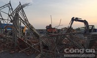 Hình ảnh sập công trình ở Đồng Nai, ít nhất 10 người tử vong