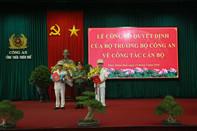 Công an Thừa Thiên - Huế có 2 phó giám đốc mới