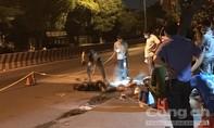 Tài xế Grabbike bất lực nhìn khách chết cháy trong đêm