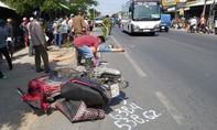 Xe khách tông tử vong người đàn ông chạy xe máy cùng chiều