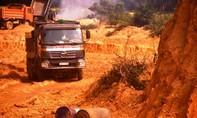 Sớm xử lý nghiêm DN khai thác đất trái phép ở Quảng Ngãi