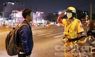 Theo chân CSGT Nam Sài Gòn tuần tra kiểu mẫu