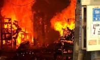 Cháy lớn tại xưởng gỗ ở Đồng Nai