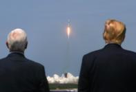 Clip cận cảnh SpaceX phóng phi thuyền đưa phi hành gia lên quỹ đạo