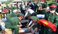 Đón 15 hài cốt liệt sĩ hy sinh tại Lào về đất mẹ